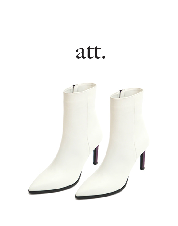 [ATT] U-3 HEEL POINT ANKLE BOOT