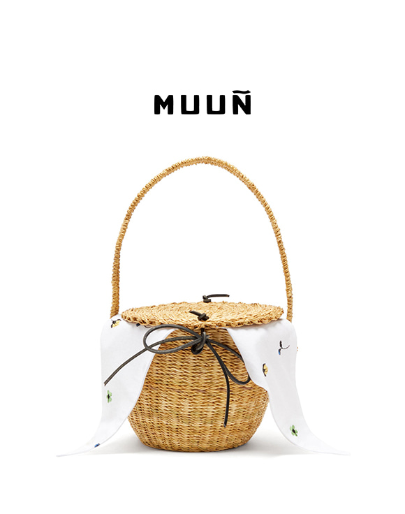 [MUUN] T-10 Lou Basket Bag