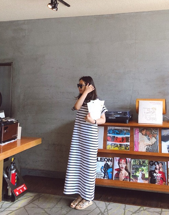 [ShortButStunning]STRIPE MAXI DRESS 공구
