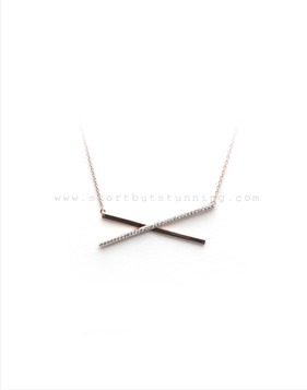 [Bitter Sweet]Z-66 X necklace