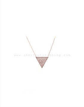 [Bitter Sweet]Z-71 Triangle necklace