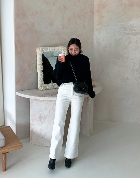 [Shortbutstunning] Cotton white pants